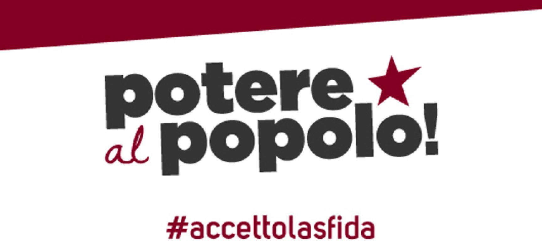 Potere al popolo: nasce il comitato cittadino, referente Giuseppe Cappelletti