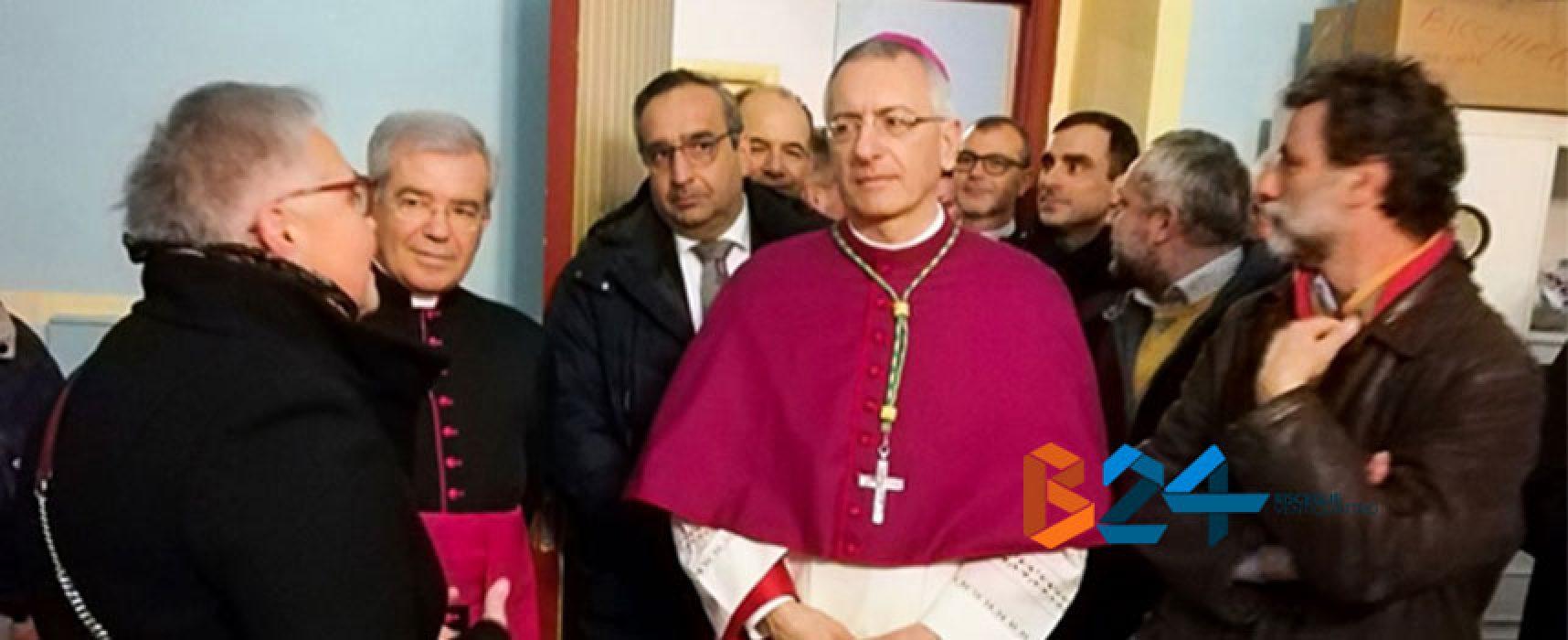 """Monsignor D'Ascenzo in visita al centro Caritas, Ruggieri: """"Un segnale importante"""""""