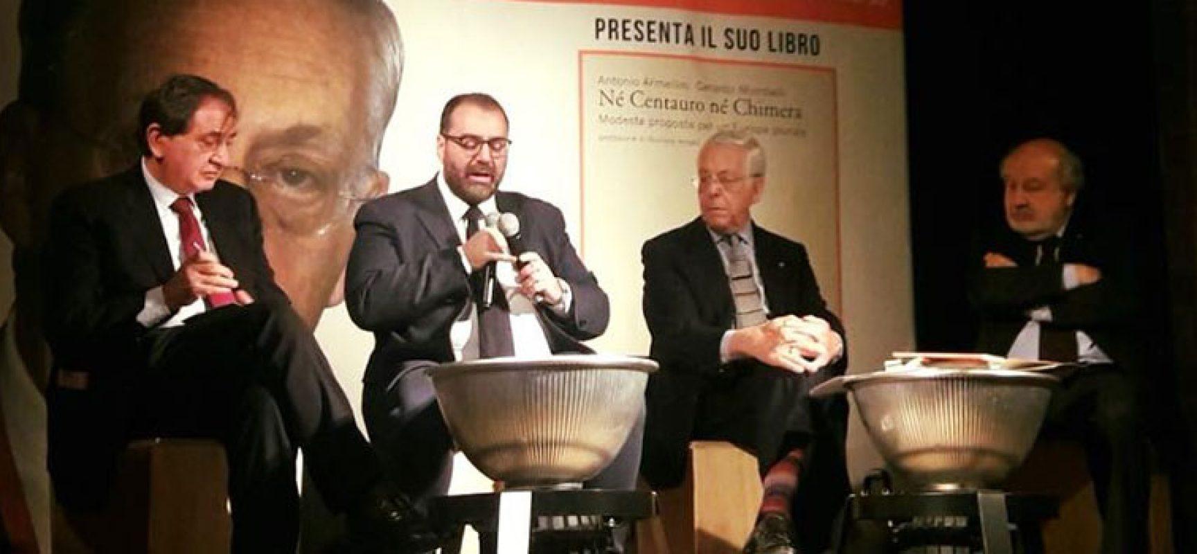 """""""Nè centauro nè chimera"""": l'ambasciatore Antonio Armellini espone il suo progetto per un'Europa plurale"""
