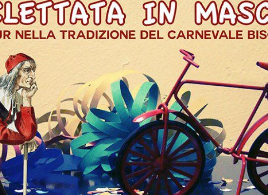 Domenica biciclettata in maschera alla scoperta delle tradizioni biscegliesi