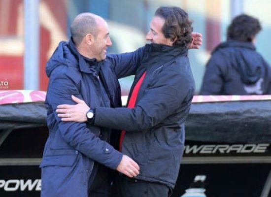 """Bisceglie calcio ko con la Sicula Leonzio, Zavettieri: """"Dobbiamo farci tutti un bagno di umiltà"""""""