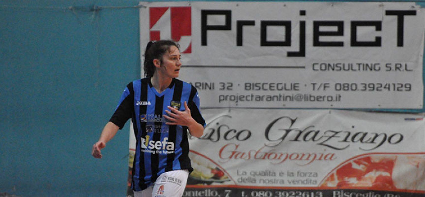 Calcio a 5, Bisceglie Femminile alla volta di Porto San Giorgio