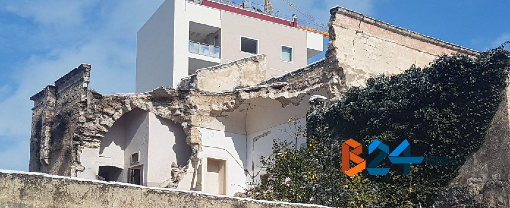 Crollo palazzina, il comune ordina ai proprietari la messa in sicurezza