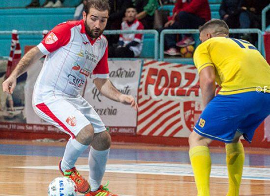Stasera al PalaDolmen Diaz-Futsal Salapia nell'infrasettimanale di serie C1