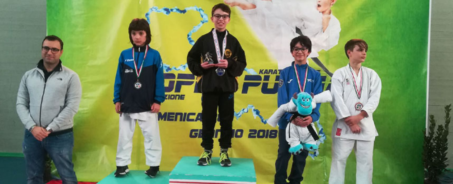 Coppa Puglia Karate Kumitè Csen, doppietta per i fratelli Papagni