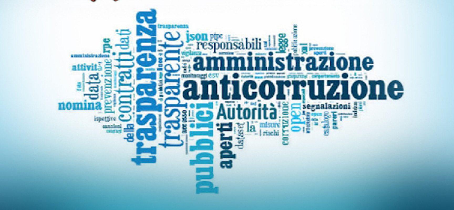 Piano triennale per la trasparenza, possibile inviare suggerimenti entro il 26 febbraio