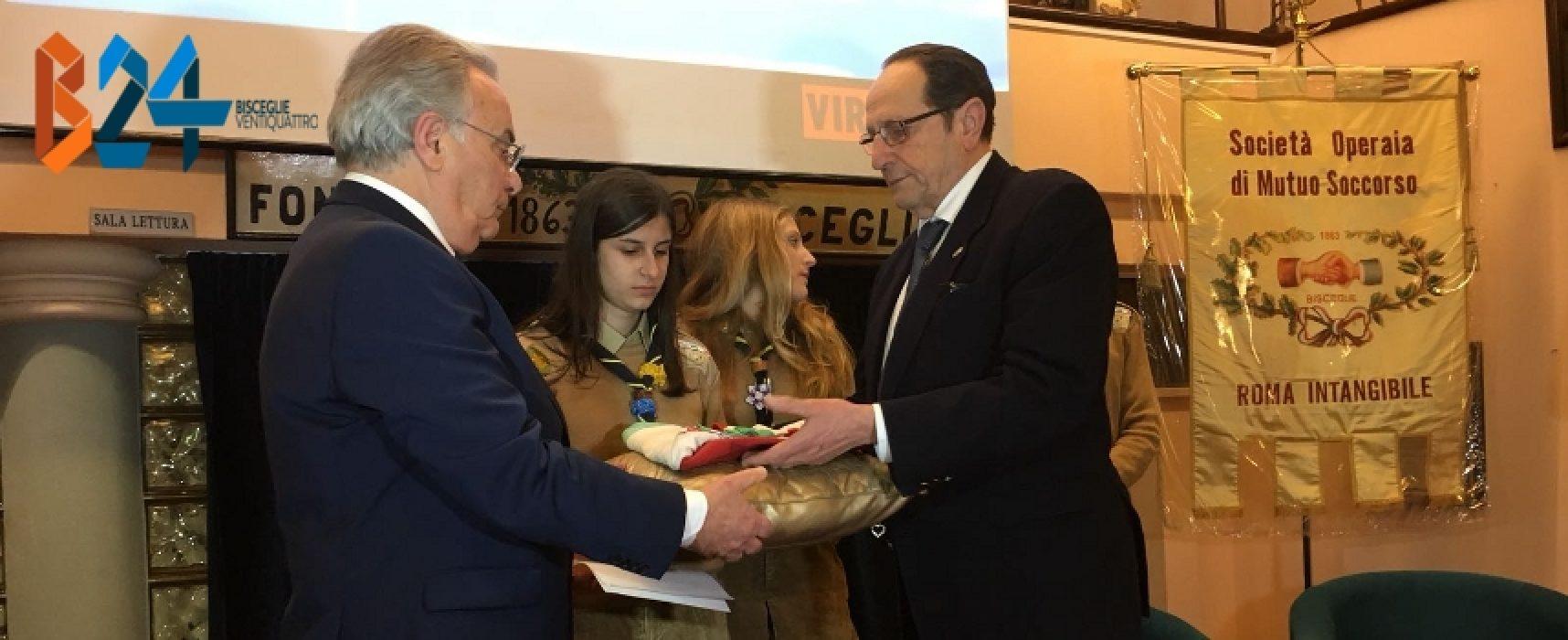 """Cerimonia passaggio del tricolore, D'Addato presidente di """"Roma Intangibile"""" / FOTO"""