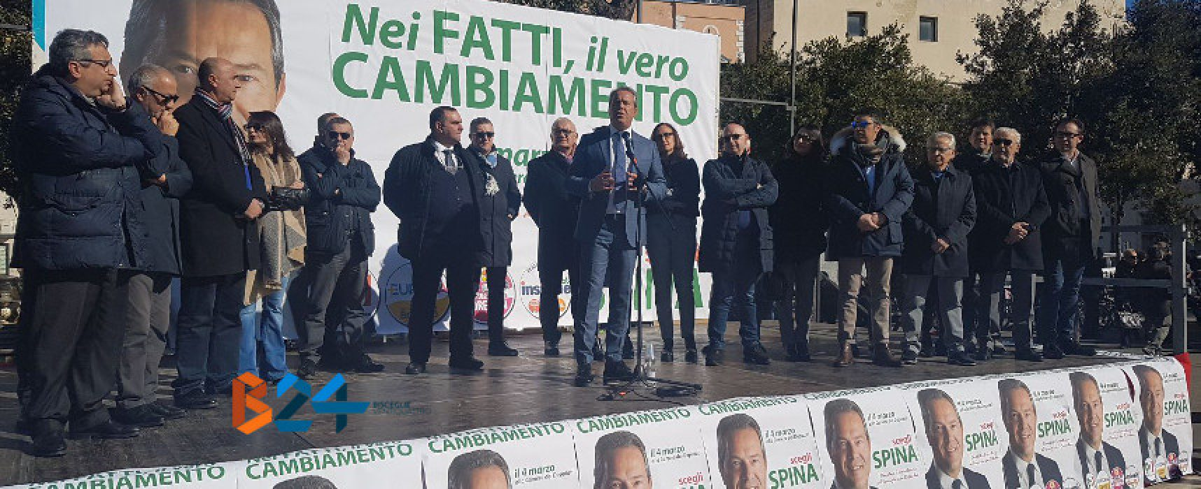 """Spina apre la sua campagna elettorale: """"Io figlio del territorio e non delle ideologie"""""""