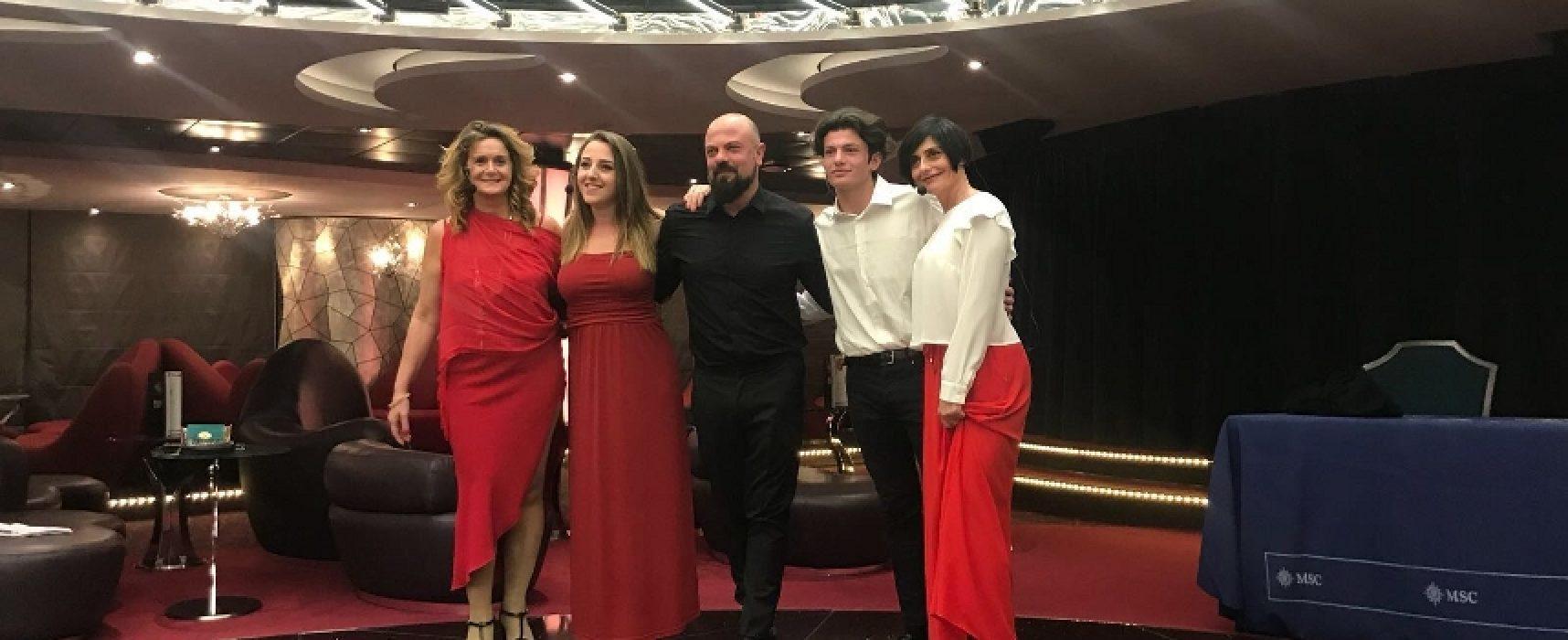"""Fagipamafra in Oriente a bordo della Msc con lo spettacolo """"Le Beatrici"""" / FOTO"""