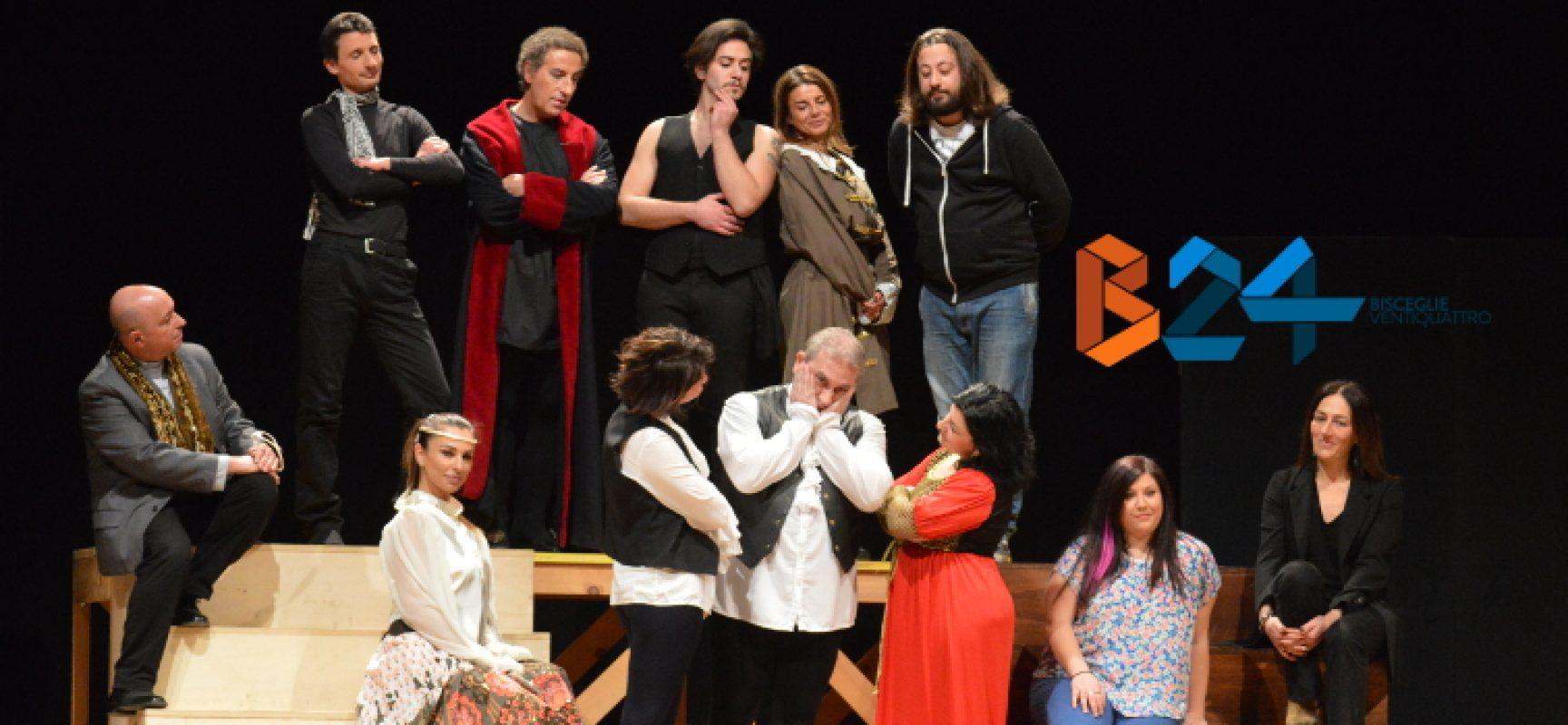 Compagnia dei Teatranti, ansie e vanità degli attori messe in scena al Garibaldi / FOTO