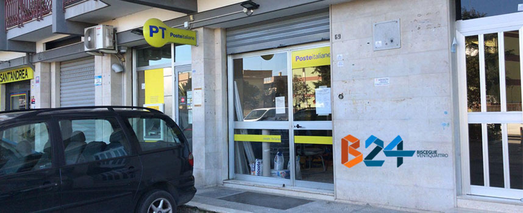 Ufficio postale di via Carrara Reddito chiuso per tutto il mese di marzo