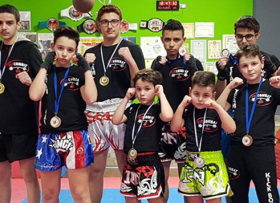 Quattro titoli conquistati dalla Fit Combat ai Campionati Italiani di kickboxing