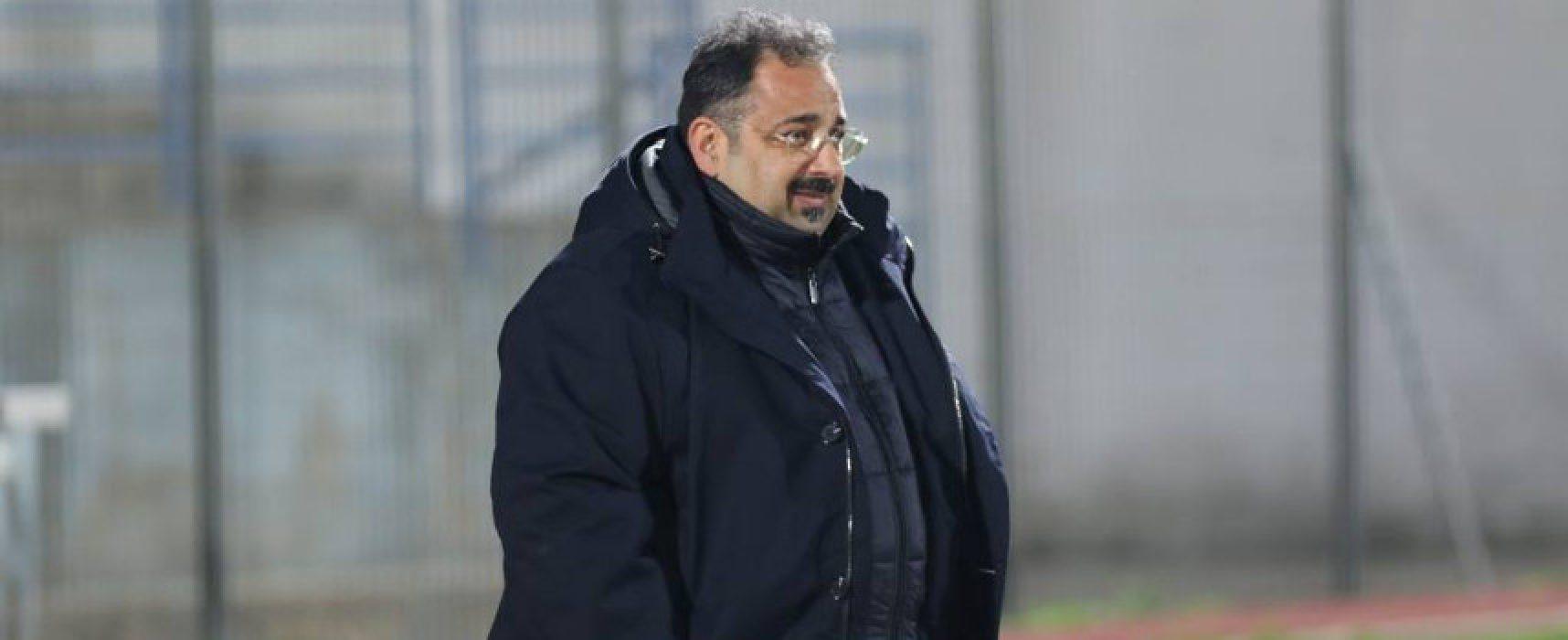 """Bisceglie calcio, Mancini: """"Questo pareggio ce lo teniamo stretto"""""""