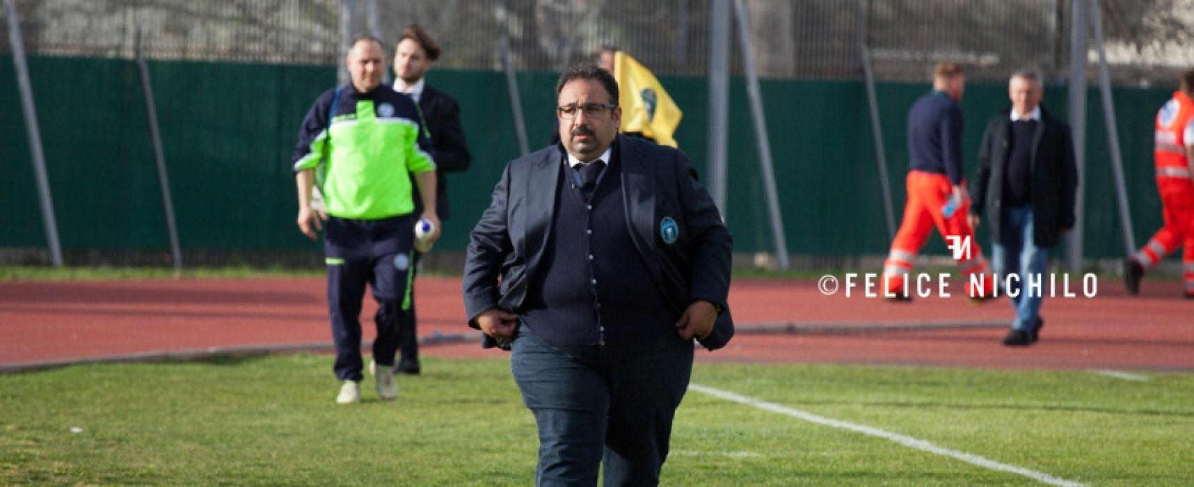 Gianfranco Mancini torna sulla panchina del Bisceglie Calcio