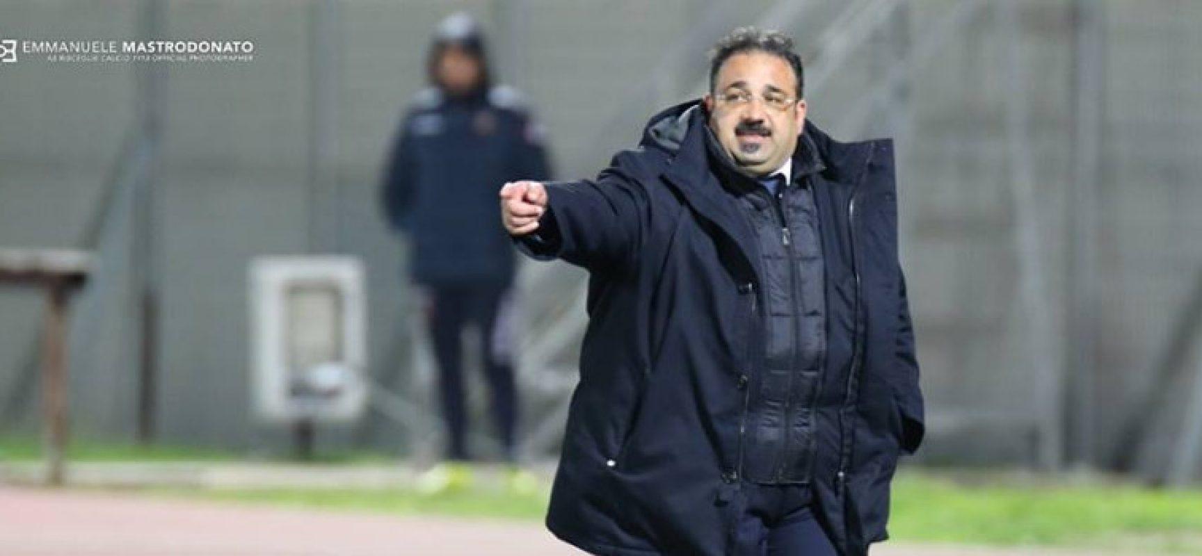 """Bisceglie calcio, Mancini: """"La prestazione dei ragazzi è stata positiva"""""""