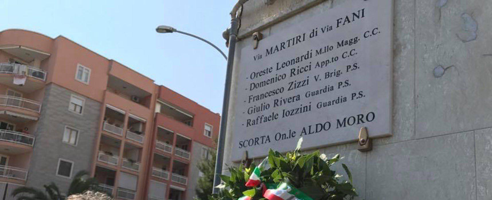 Eccidio scorta Aldo Moro, domani la sirena della torre maestra suonerà in ricordo delle vittime