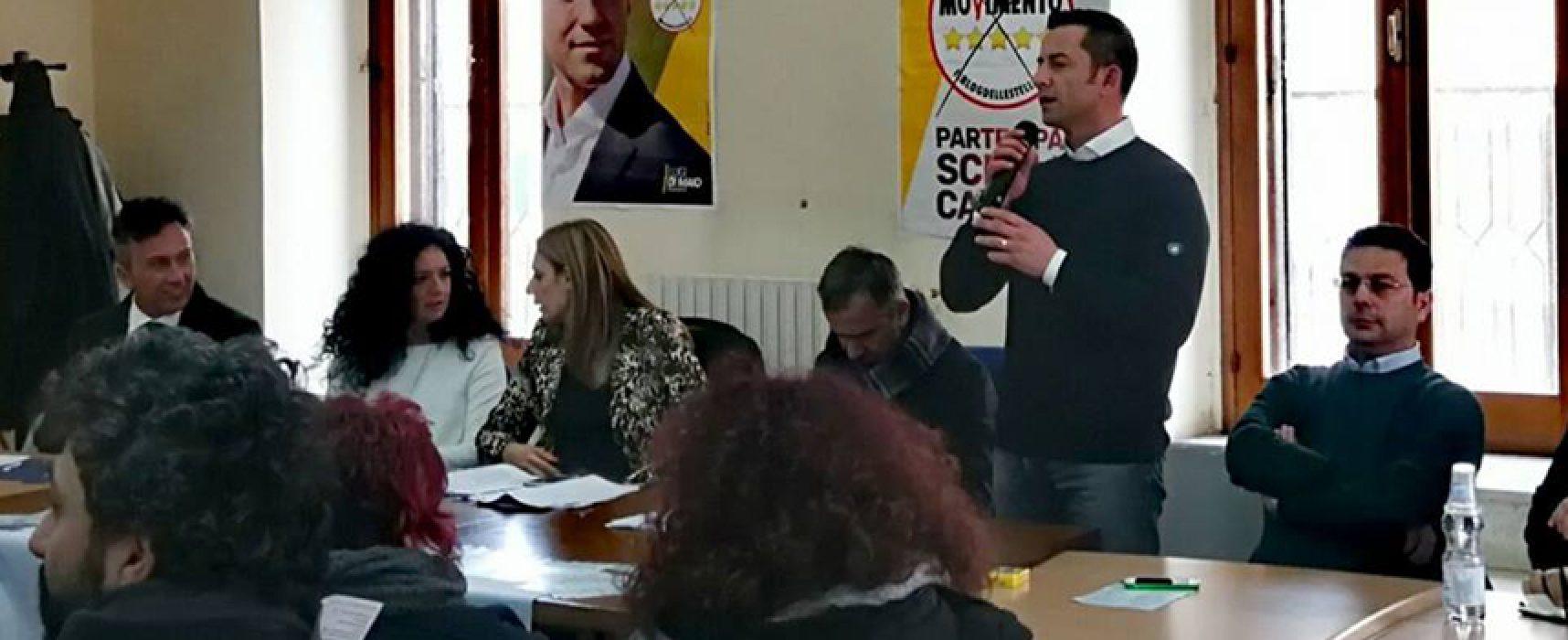 Il biscegliese Davide Galantino (M5S) eletto alla Camera dei Deputati