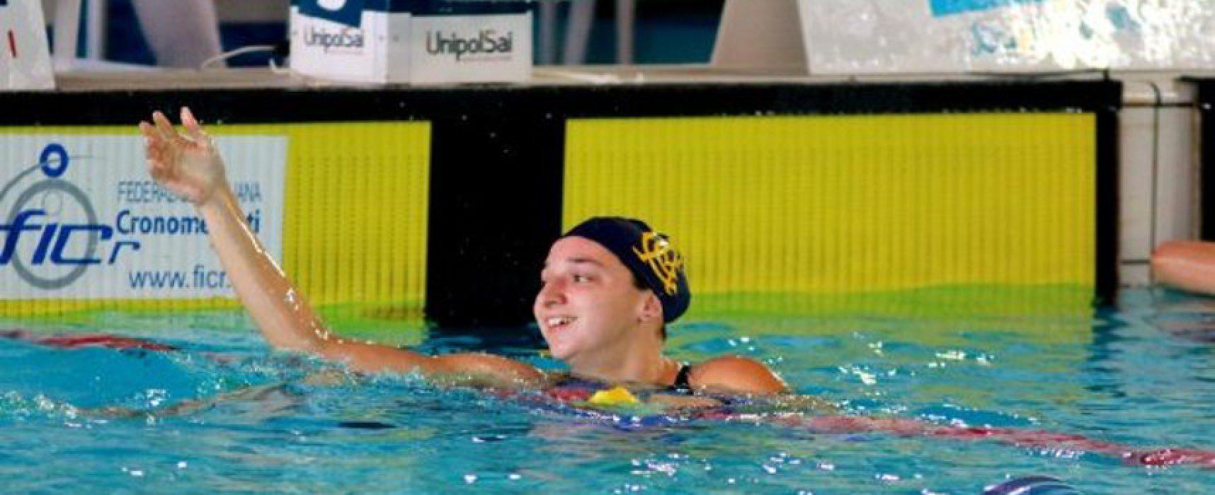 Nuoto, Elena Di Liddo d'argento agli Open di Madrid