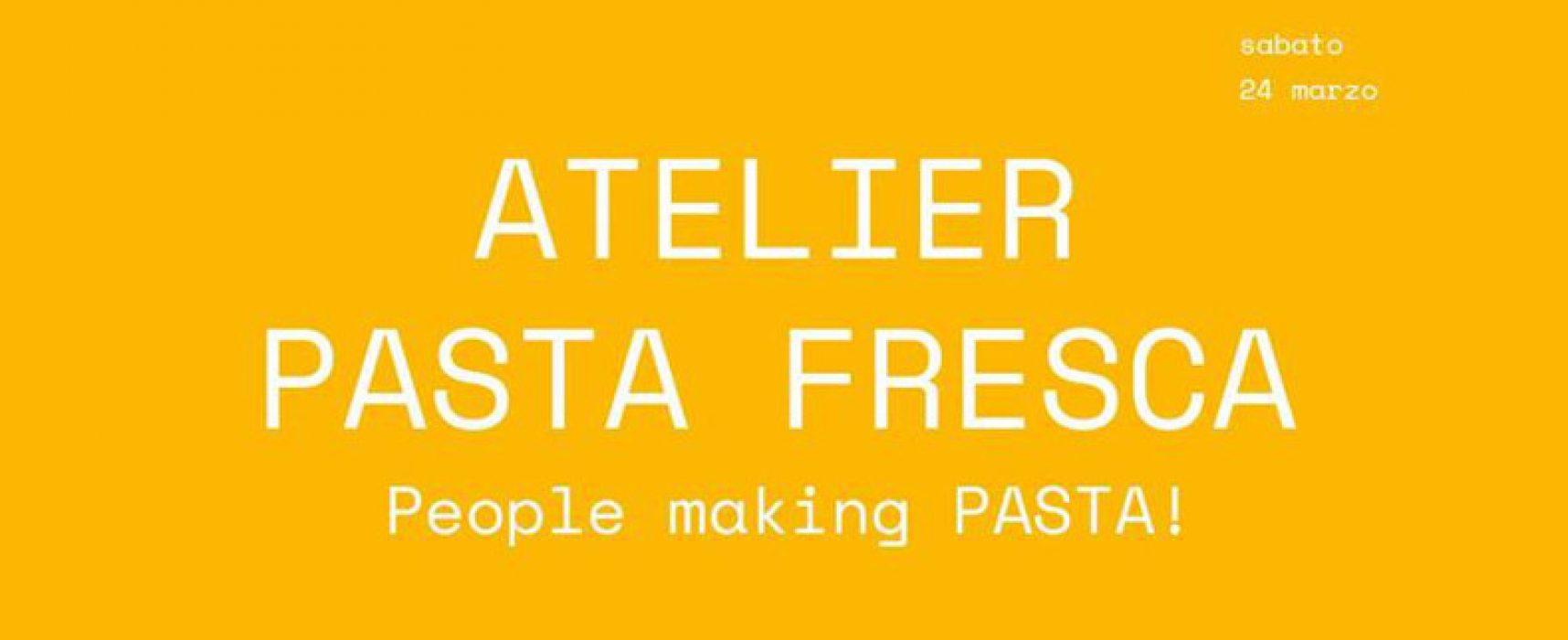 """""""People making Pasta!"""", laboratorio di pasta fresca aperto a tutti"""