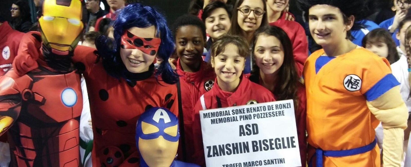 Buona prestazione per la Zanshin Dojo a Taranto