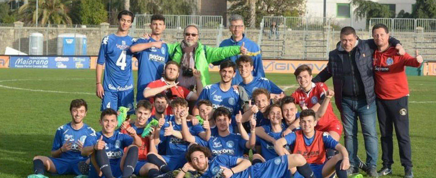 L'Unione Calcio Bisceglie concende il bis vincendo il campionato Juniores