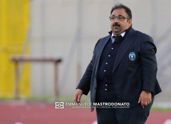 """Mancini: """"Bisceglie timoroso, atteggiamento sbagliato, paura di giocare a calcio"""""""