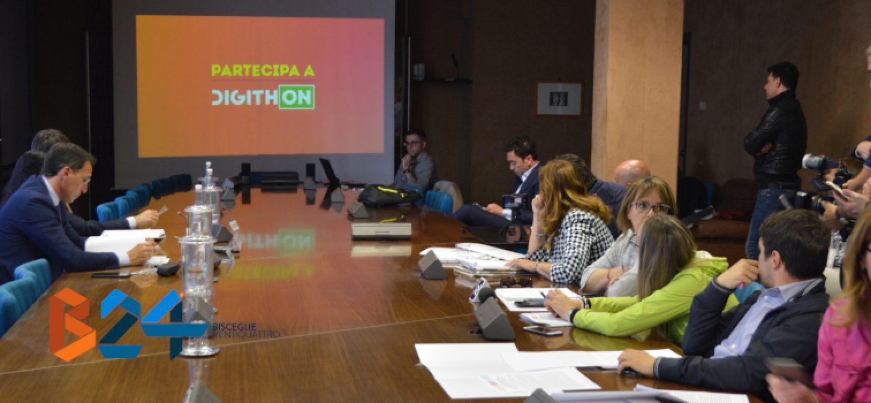 """Presentata la terza edizione di Digithon, """"maratona delle idee digitali"""""""