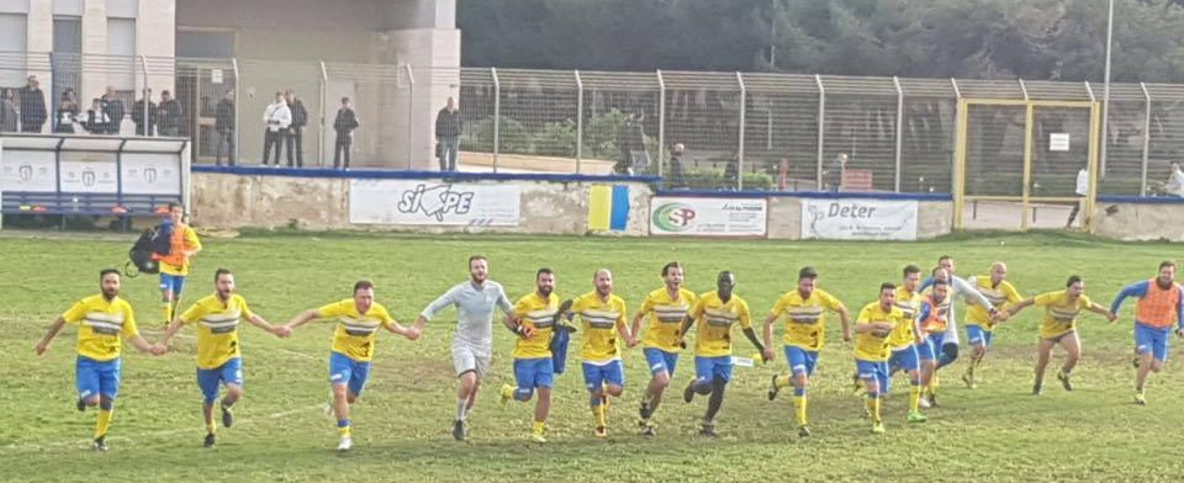 De Cillis-gol, Don Uva corsaro in casa del Trinitapoli / CLASSIFICA