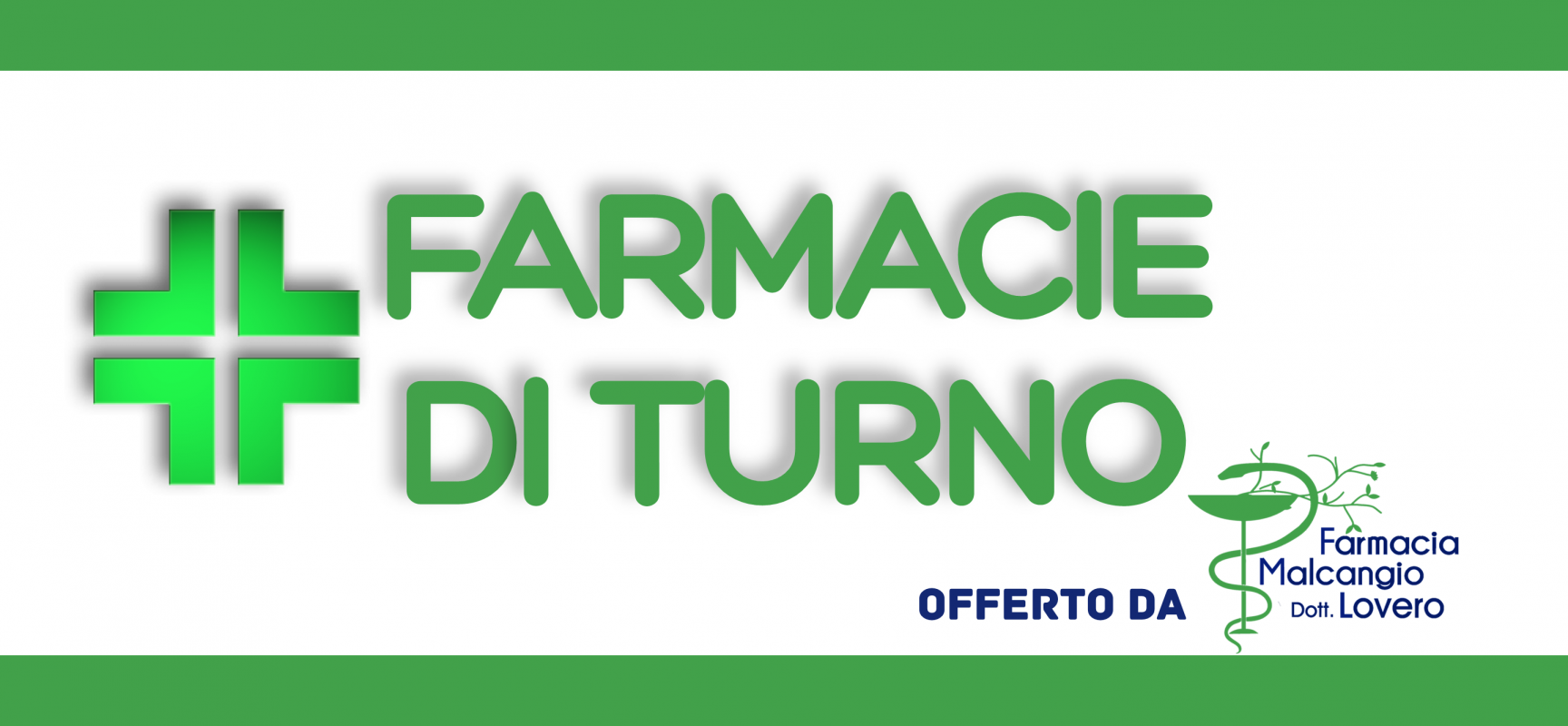 Farmacie di turno dal 2 all'8 novembre