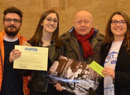 """Avis Bisceglie, """"Il dono in una foto"""": premiati i vincitori del concorso fotografico"""