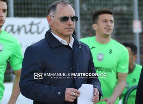 """Bisceglie calcio, Milillo: """"Contro la Reggina il pareggio sarebbe stato giusto"""""""