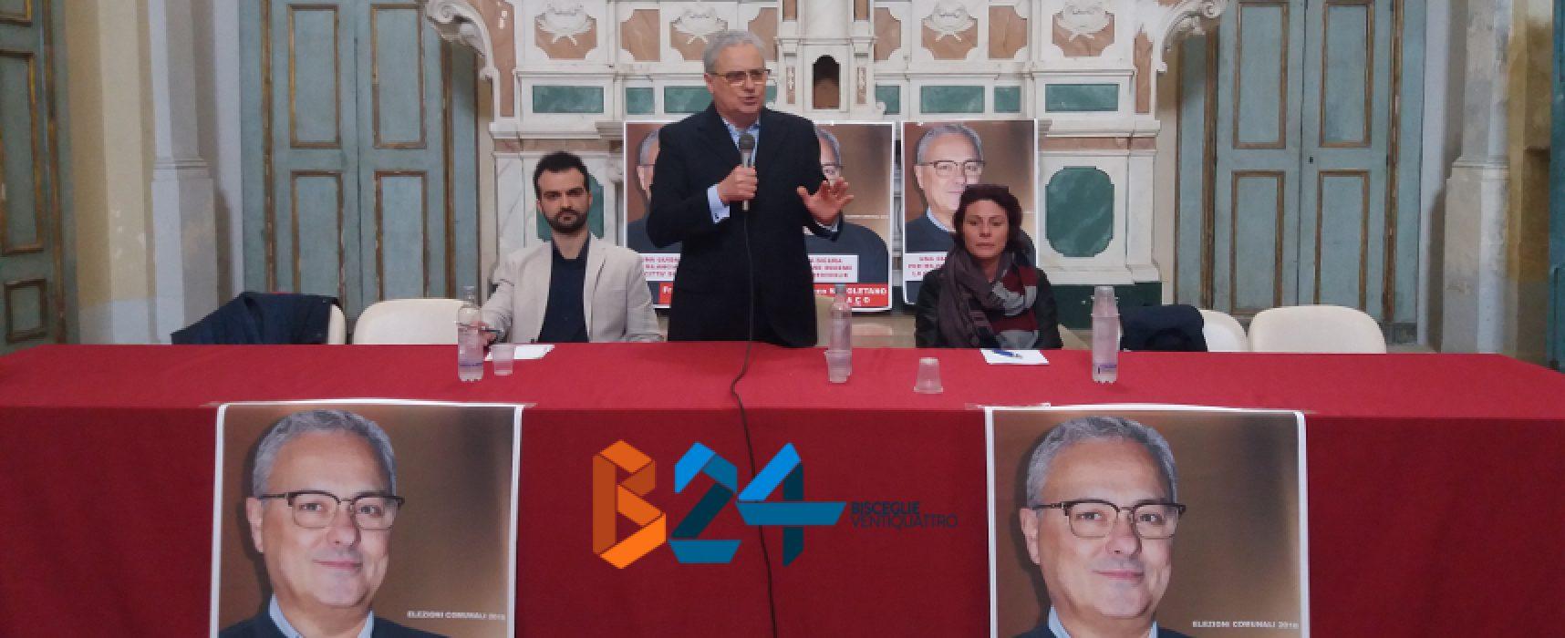 """Napoletano lancia candidatura: """"Serve sindaco capace. Parole Boccia virulente e odiose"""" / VIDEO"""