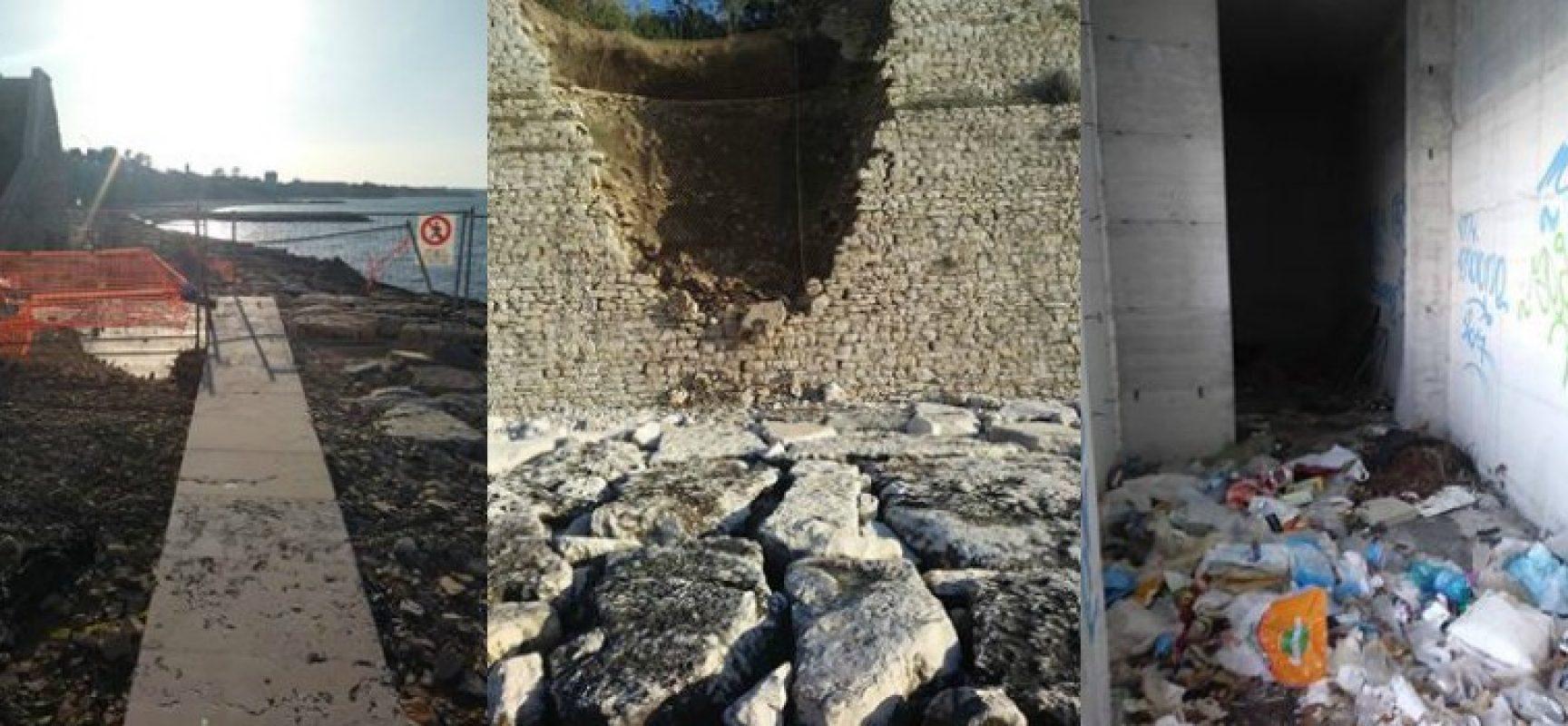 """Meetup Bisceglie 5 Stelle: """"Spiagge ancora nel degrado a due anni dalla nostra istanza"""""""