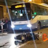 Incidente tra due auto e una moto su via Imbriani /FOTO