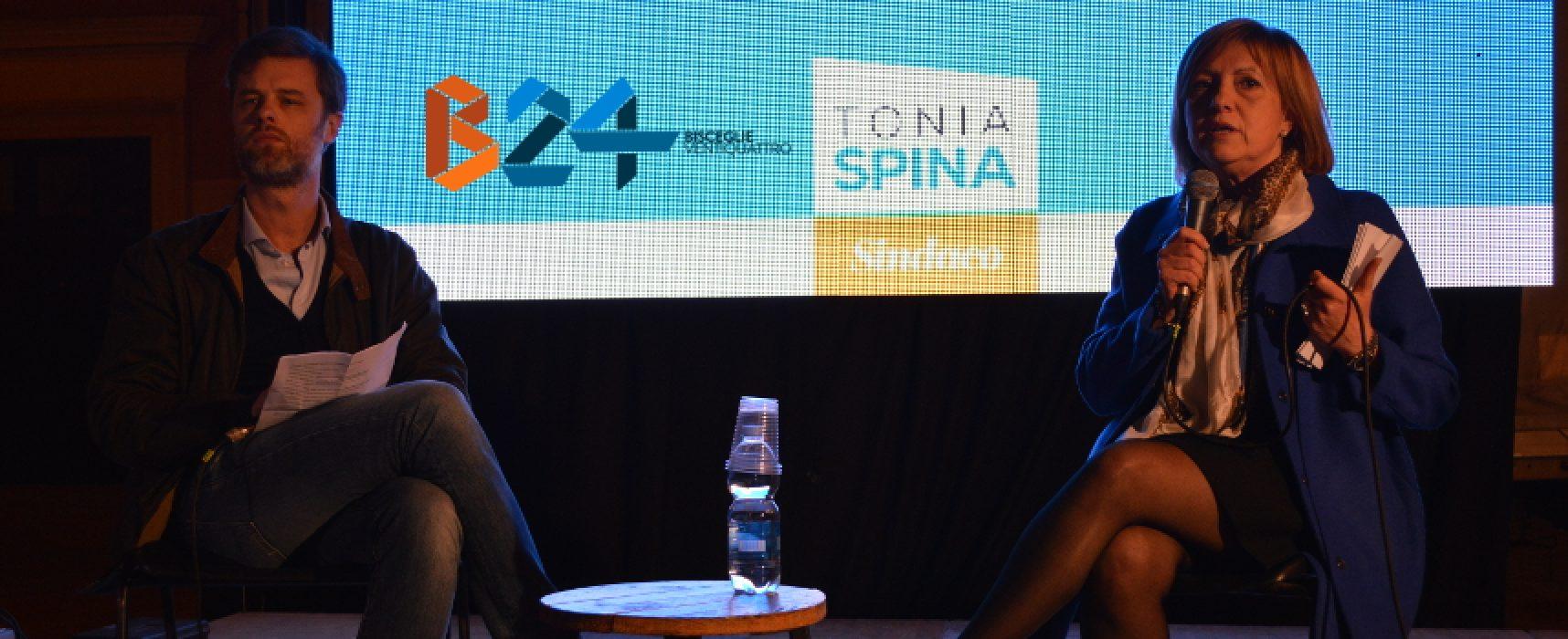 """""""Un'altra Bisceglie"""", Tonia Spina: """"Biscegliesi pronti a dare spallata alla vecchia politica"""""""