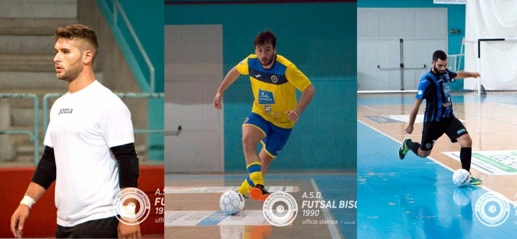 Futsal Bisceglie, conferma per tre in attesa del nuovo tecnico