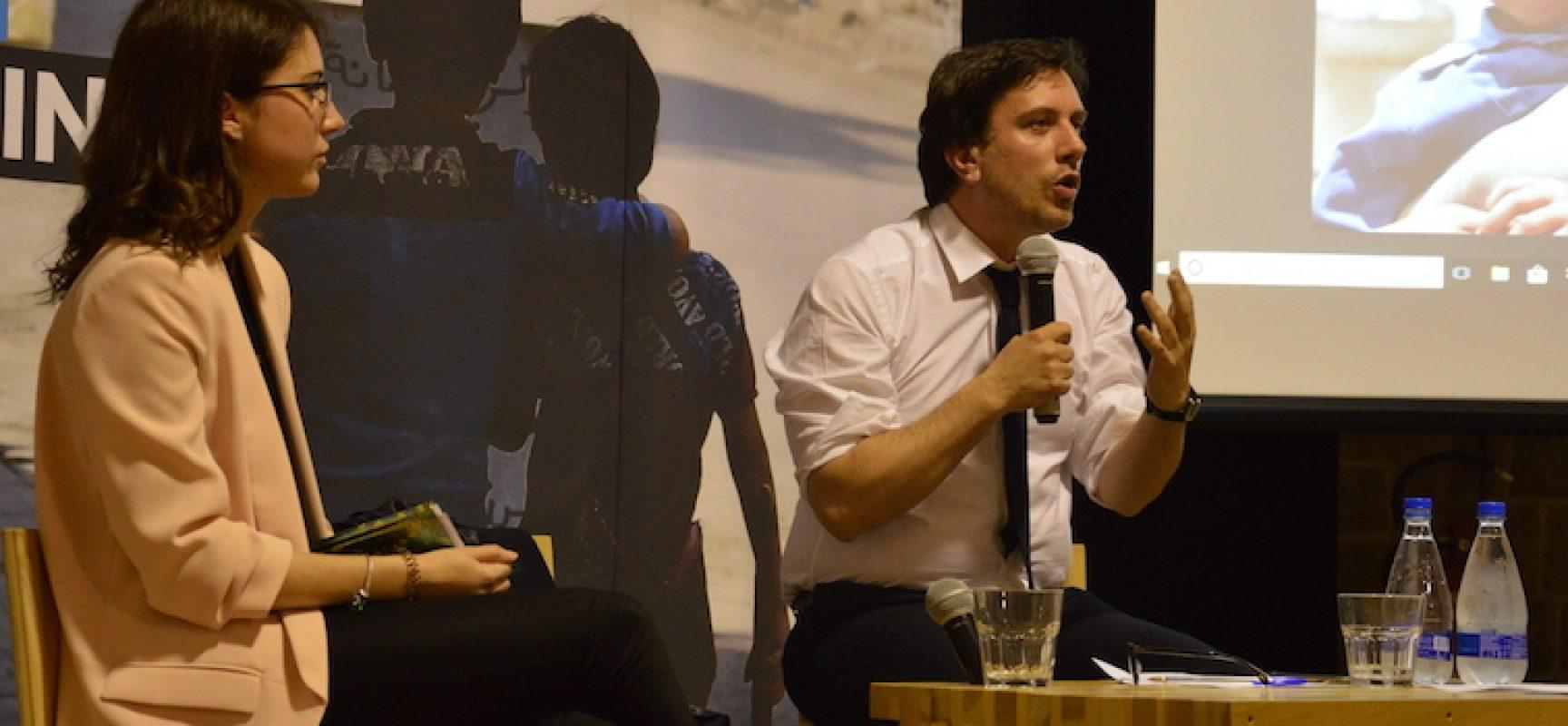 Emergenze nel mondo, integrazione ed accoglienza: Andrea Iacomini (Unicef) alle Vecchie Segherie