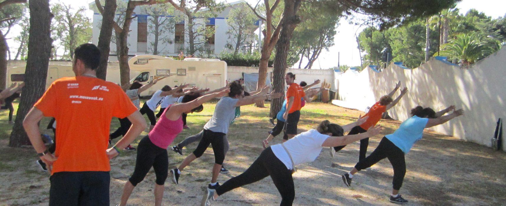 Torna la Move Week, settimana di promozione per l'attività fisica