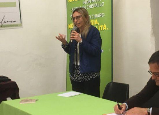 """Igiene Urbana, Tiziana Merlino porta a Bisceglie il modello Genova ospite di """"Un Passo alla Svolta"""""""