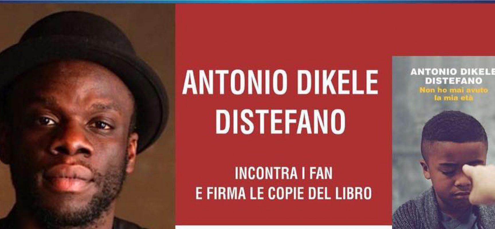 Antonio Dikele Distefano alle Vecchie Segherie Mastrototaro il 1° giugno