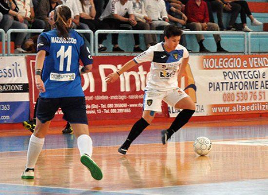 Il Bisceglie Femminile vince il derby con il Futsal Molfetta e vola al 3° turno dei playoff