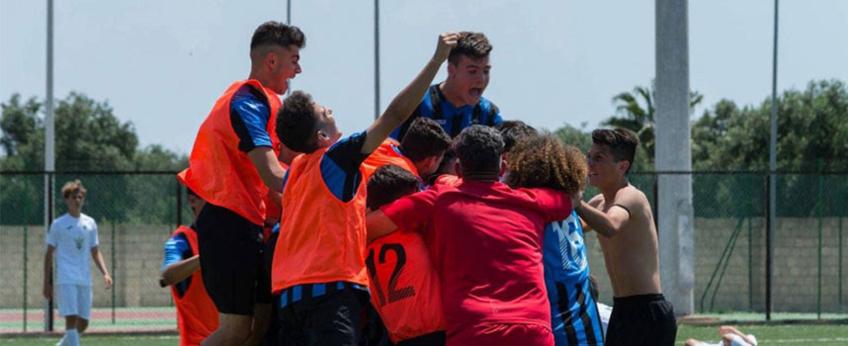 Calcio, il Bisceglie Under 15 approda ai quarti di finale scudetto