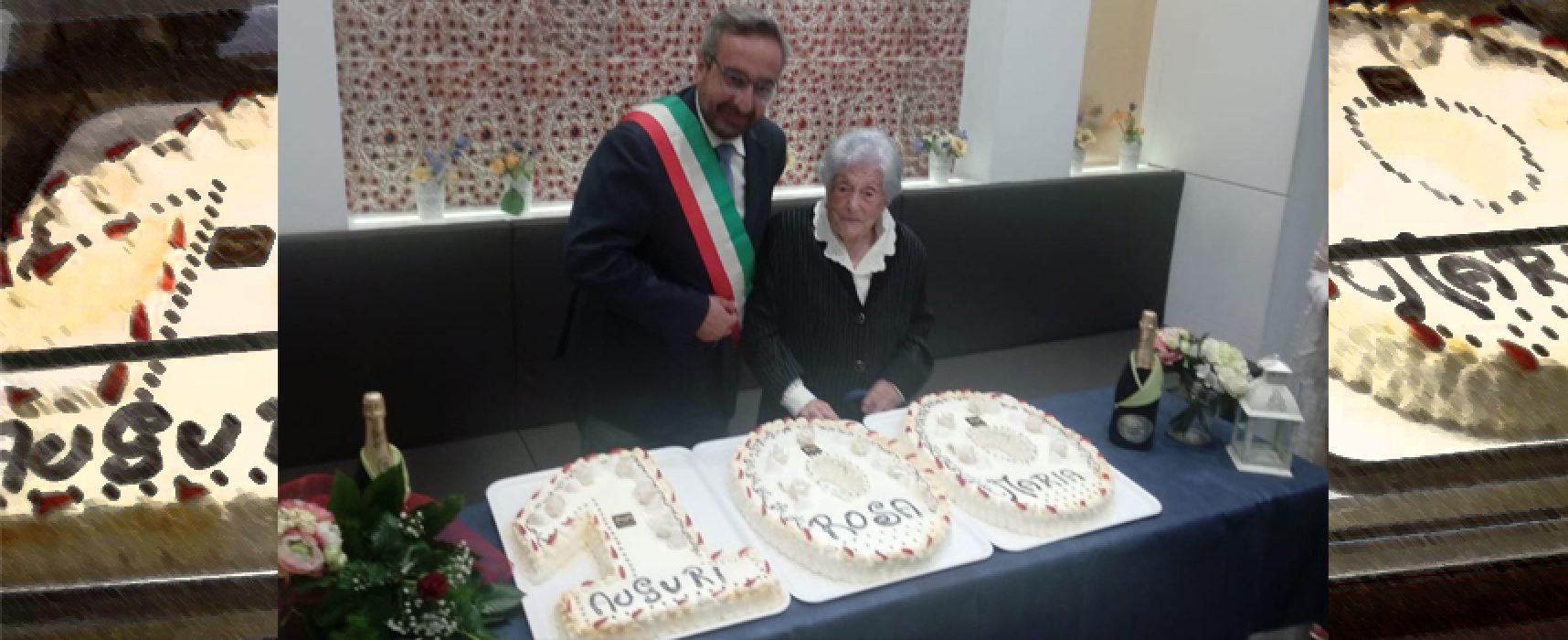 Nonna Maria Rosa compie cento anni / FOTO