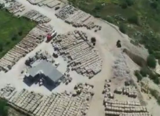 Sequestrata discarica abusiva tra Bisceglie e Trani, 4 denunce / VIDEO