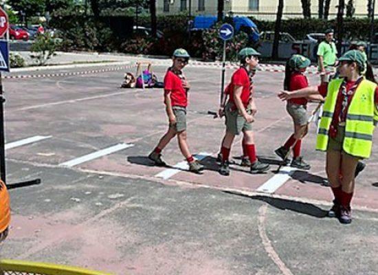 Concluso il programma su educazione stradale dei lupetti scout di Bisceglie / FOTO