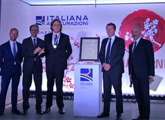 L'agenzia Italiana Assicurazioni di Giuseppe Di Luzio vince la prestigiosa Polizza D'Oro / FOTO
