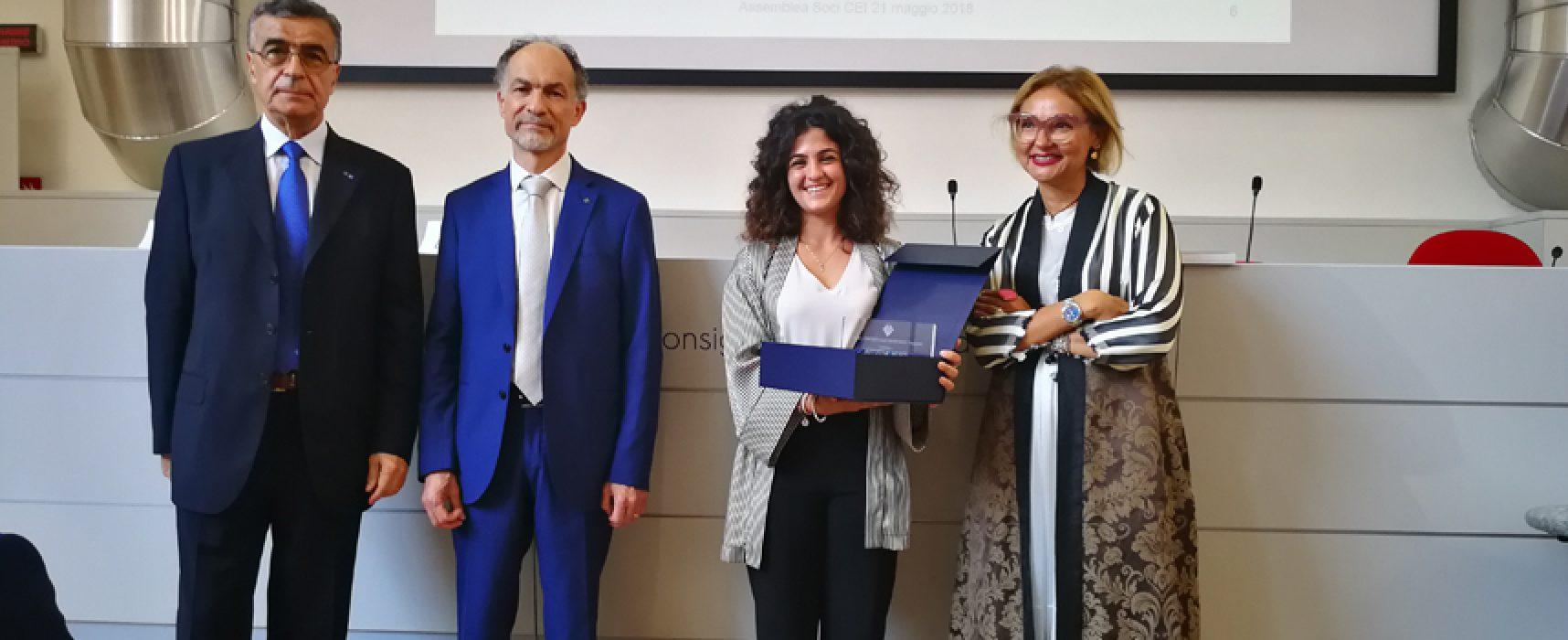 Premio Cei 2017: miglior tesi di laurea alla biscegliese Rossella Musci