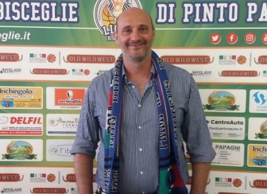 """Basket, i Lions presentano coach Marinelli: """"Bisceglie piazza fondamentale per la pallacanestro pugliese"""""""