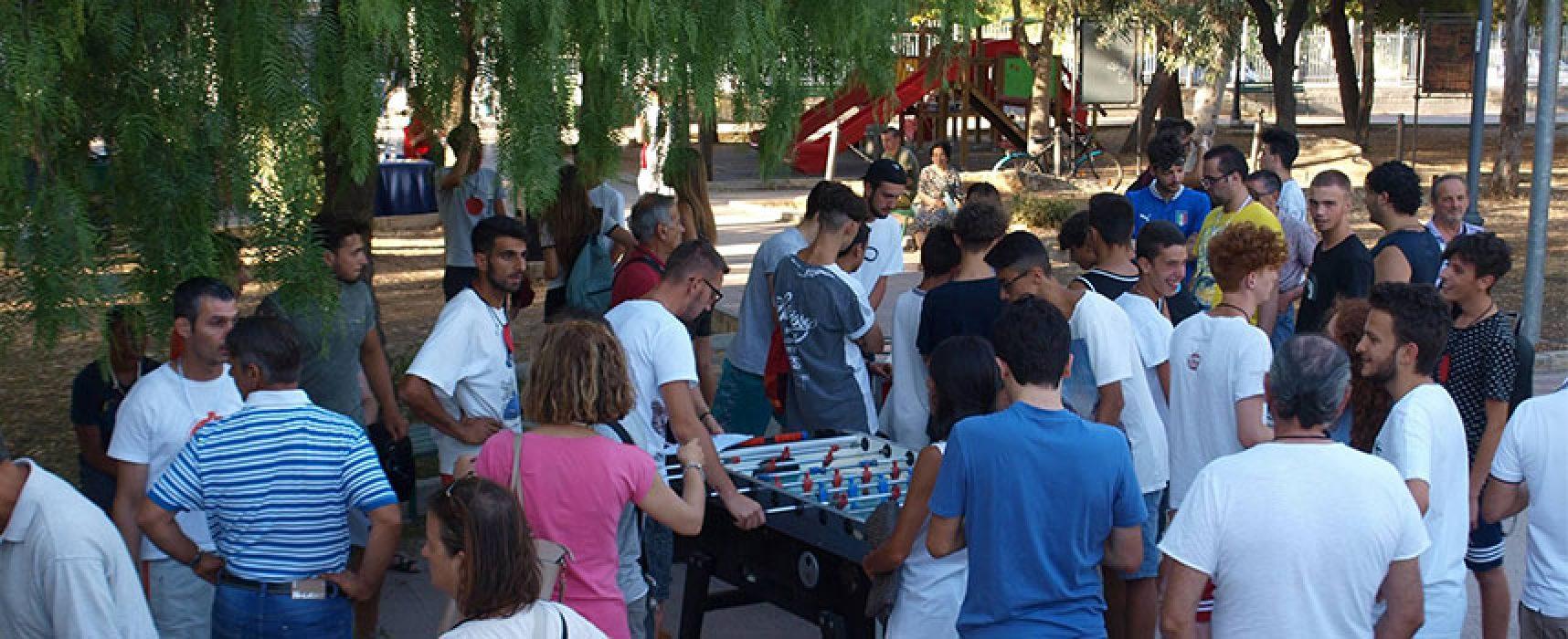 """Temenos per il sociale organizza il 15° torneo di calcio balilla """"Incontriamoci Giocando"""""""