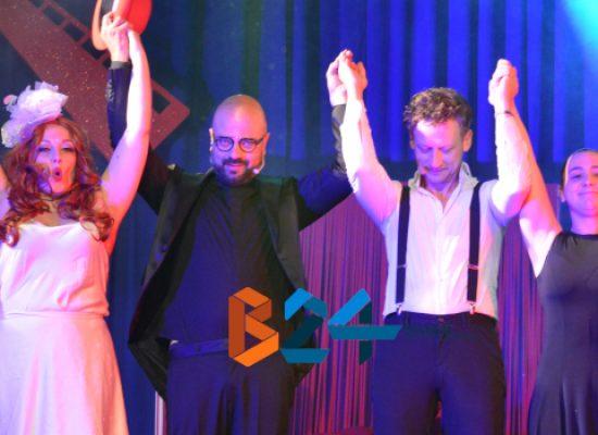 """Fagipamafra, profonde emozioni sul palco del Politeama con """"Moulin Rouge"""" / FOTO"""